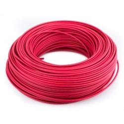 Cable para protoboard cal22 ROJO [metro]