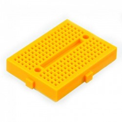 Protoboard nano Amarillo[170 puntos]