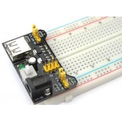 Regulador de Voltaje para Protoboard