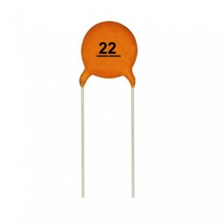 Capacitor Cer 225 Mico De 1nf 50v