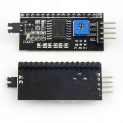 Pantalla LCD [Transflectiva] Alfanumérica de 16x2 Caracteres [I2C]