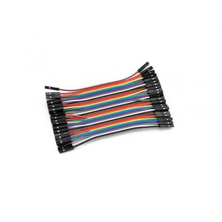 Cables DuPont H-H de 10cm