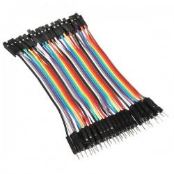 Cables DuPont H-M de 10cm