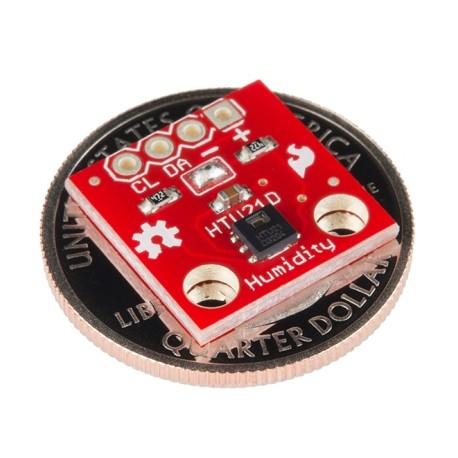 Sensor de Temperatura y Humedad Relativa [HTU21D]