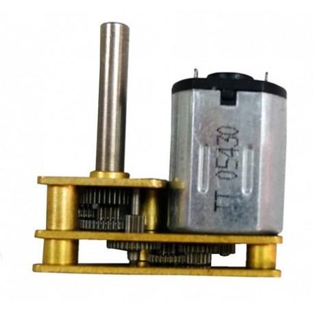 Micro Motorreductor para Micro Sumo [30:1]