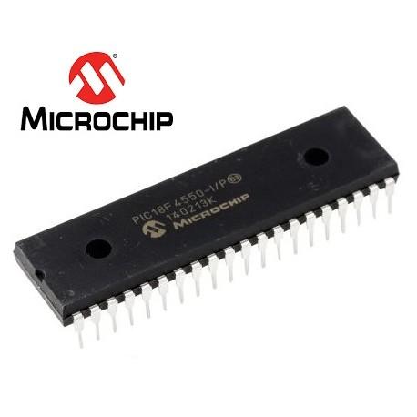 Microcontrolador PIC18F4550-I/P  [DIP]