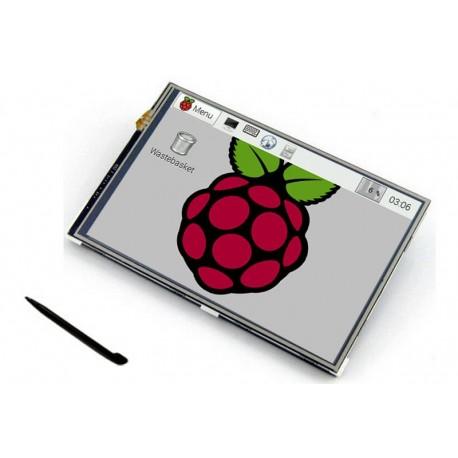 Pantalla TFT Táctil 4'' para RaspBerry Pi