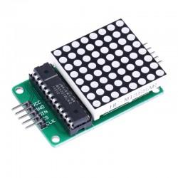 Matriz de LED 8x8 ROJA [Con Sistema mínimo]
