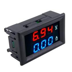 Voltímetro- Amperímetro Digital