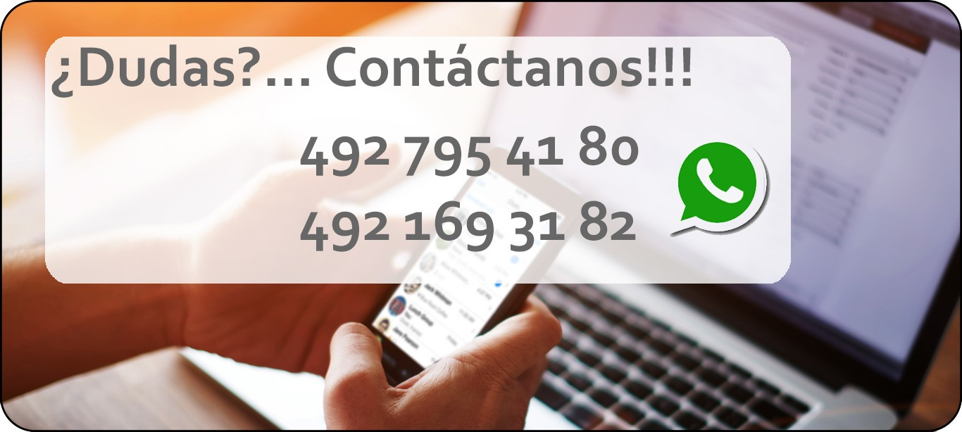 Contacto Via Whatsapp